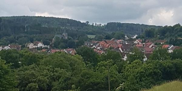 Blick auf Schauenburg-Hoof