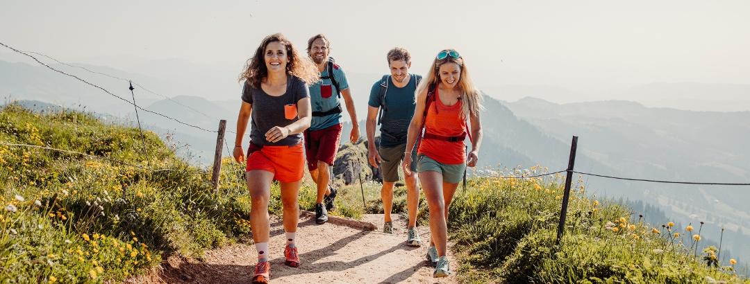 Randonnée à Oberstaufen