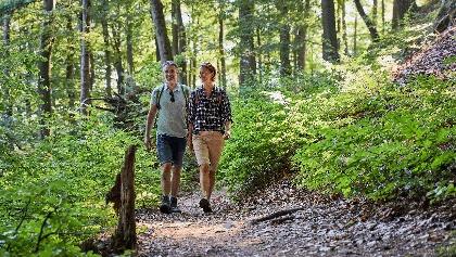 Wandern auf dem Kirkeler Felsenpfad