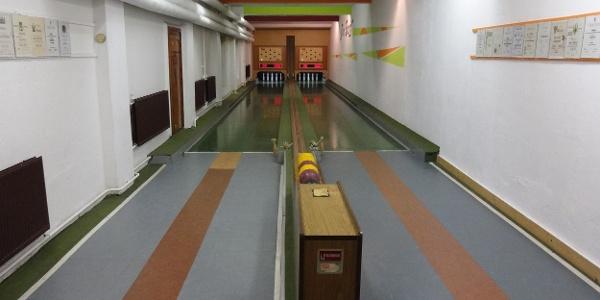 """Kegelbahn in """"Der Burg"""""""