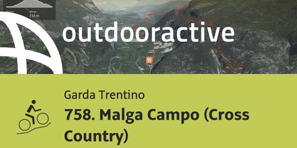 mountain biking trail at Lake Garda: 758. Malga Campo (Cross Country)
