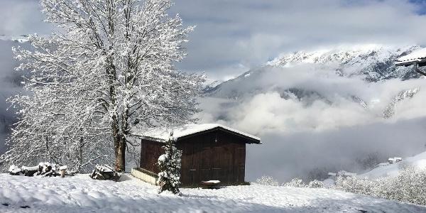 Wintereinbruch im Kleinen Paradies