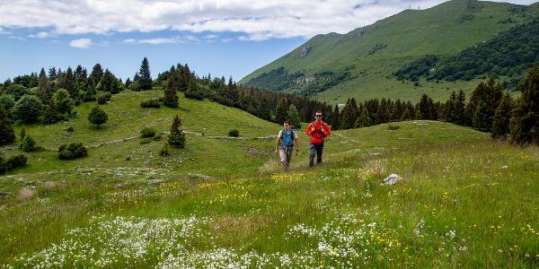 Monte Baldo a piedi lungo La Via Delle PREALPI