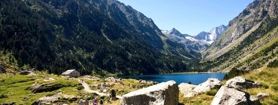 Le cirque de Gavarnie dans les Hautes-Pyrénées