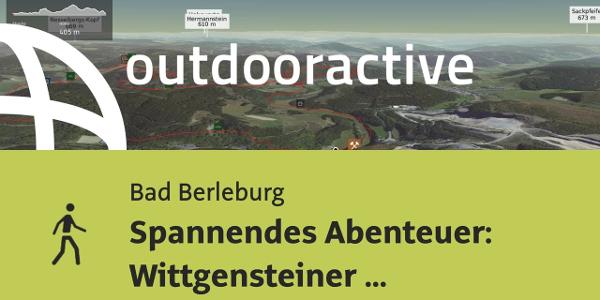 Wanderung in Bad Berleburg: Spannendes Abenteuer: Wittgensteiner Schieferpfad