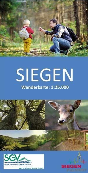 Wanderkarte Siegen