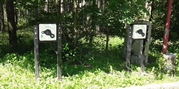 Elektroauto-Ladestation an den Greifensteinen