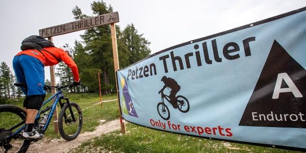 Thriller Start an der Bergstation Petzen