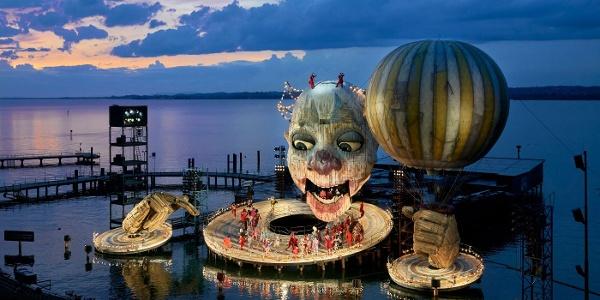 Bregenzer Festspiele, Seebühne, Rigoletto 2019 - 2021