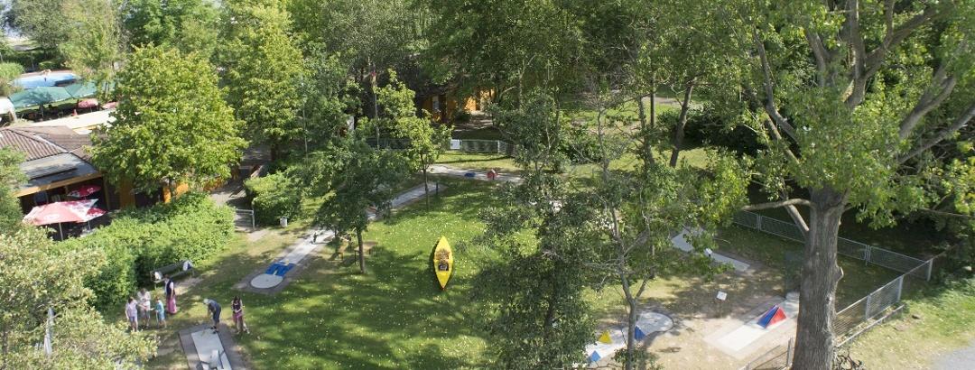 Minigolf am Naturschwimmbad