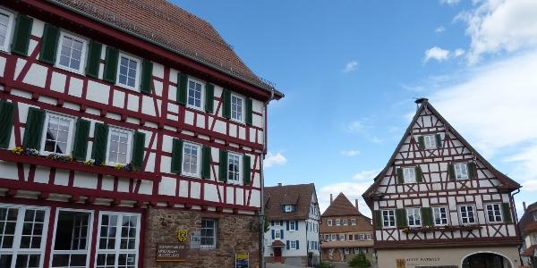 Bergvogtei und altes Rathaus Neubulachv