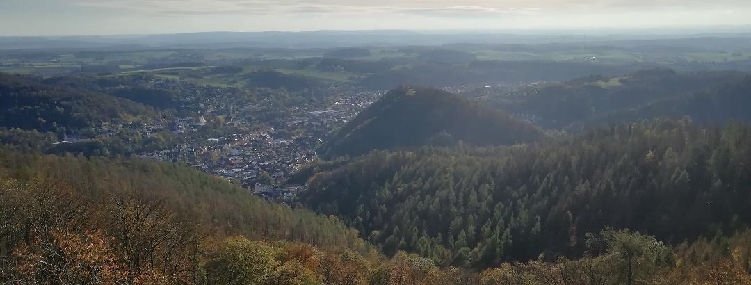 Blick vom Bismarckturm