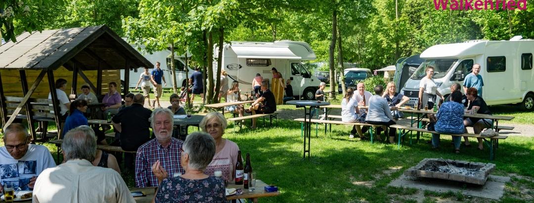 Grillen Knaus Campingpark Walkenried