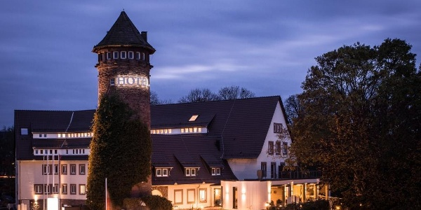 Weserhotel Schwager Abendstimmung