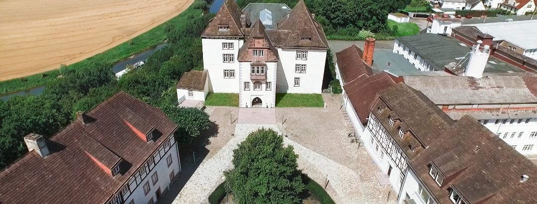 Schloss Fürstenberg von oben