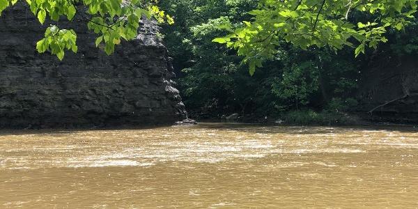 Hidden channel on Rocky River