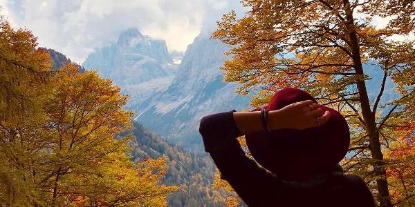 Vallesinella d'autunno, Madonna di Campiglio