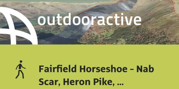 hike in Eden: Fairfield Horseshoe - Nab Scar, Heron Pike, Great Rigg, ...