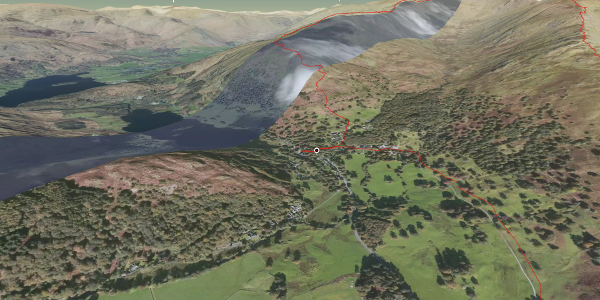 hike in Eden: Fairfield Horseshoe - Nab Scar, Heron Pike, Great Rigg, ...