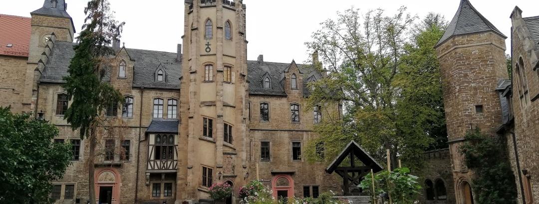 Schloss Mansfeld Treppenturm