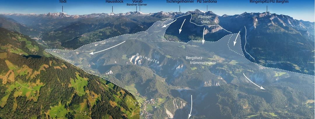 27920-307 Pano Flimser Bergsturz