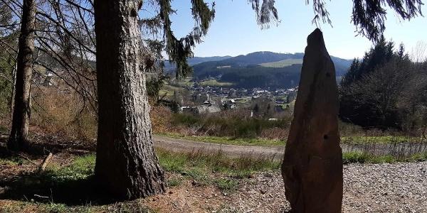 Blick über Schwarzenau