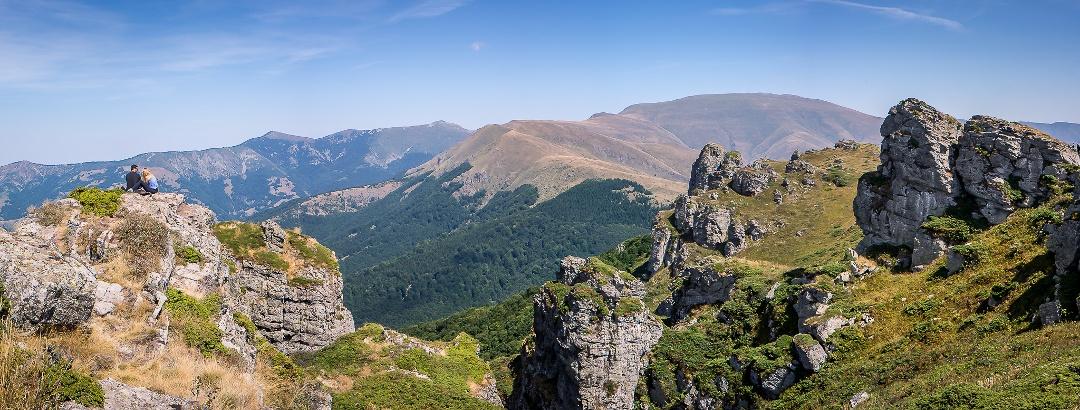 Balkangebirge in Serbien