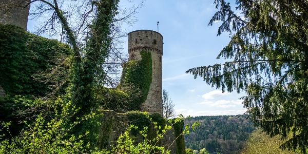 Die Burg Hohennagold lohnt einen kurzen Abstecher