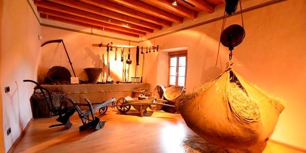 Casa Cüs, a Darè, sede del Museo degli antichi mestieri