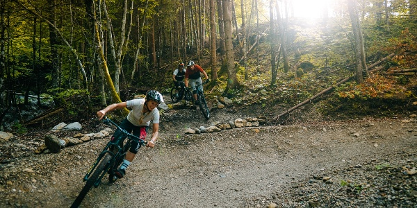 Crossing Lowgartner Trail