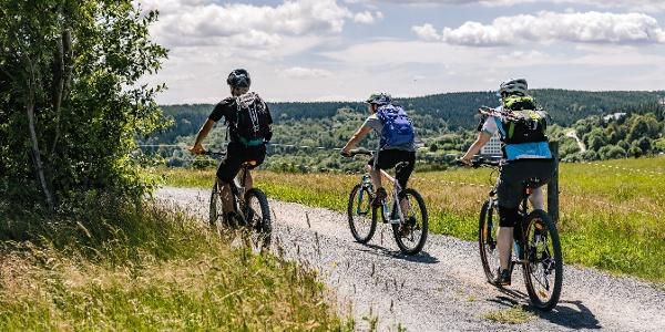 Fahrradfahren & Biken in der Urlaubsregion Altenberg