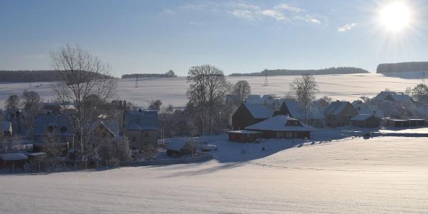 Winterlandschaft Jahnsbach