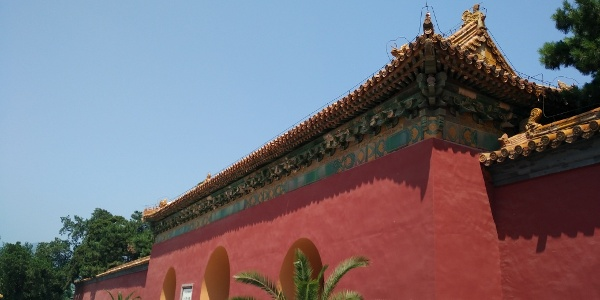北京十三陵明长陵