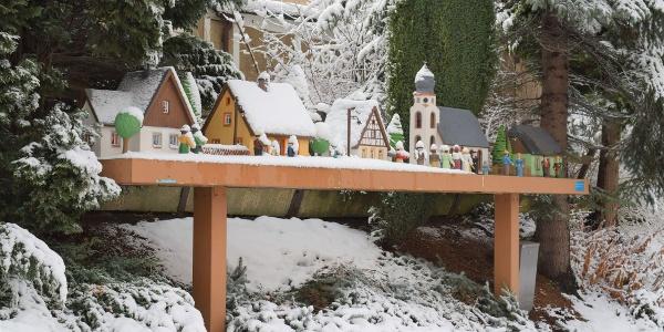 Auerbacher Fensterbrettl in der Weihnachtszeit