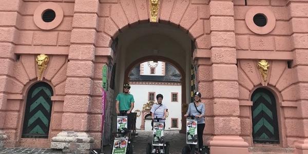 Segwaytour Schlosstour Augustusburg