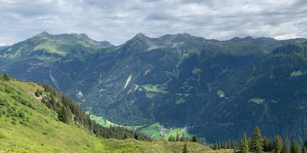 Ausblick vom Gantakopf