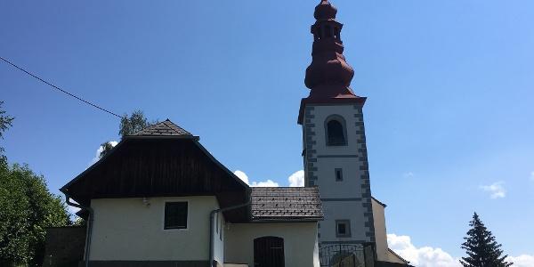 Pfarrkirche Gaisberg Hl. Georg