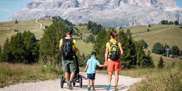 Piz Sorega hiking