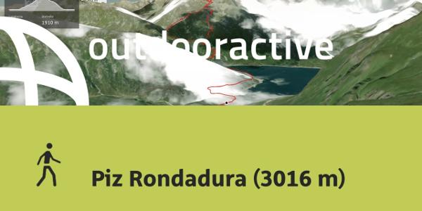 Escursione in Disentis Sedrun: Piz Rondadura (3016 m)