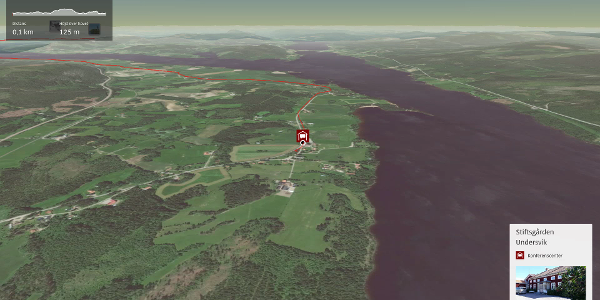 Pilgrimsleden i Hälsingland: Helgonleden, Underviks kyrka till Järvsö kyrka