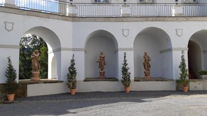 Galeriebögen Schloß Purschenstein
