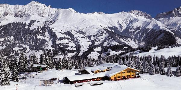 Berghaus Schwänzelegg auf Grüsch-Danusa