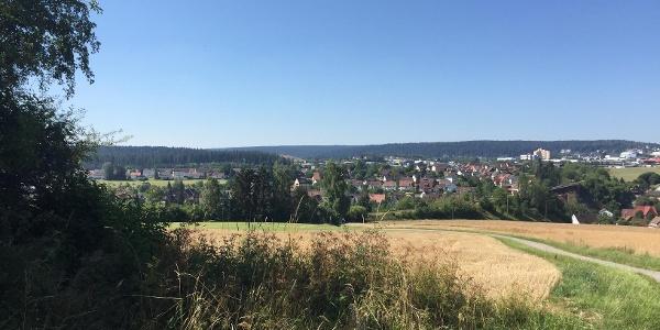 Wittlensweiler, im Hintergrund Freudenstadt