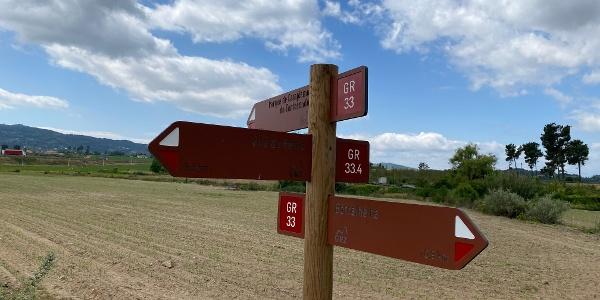 Irrigando a Cova da Beira: Área de Descanso da Ponte Alvares > Parque de Campismo do Tortosendo [GR33 - GRZ: Etapa 4]