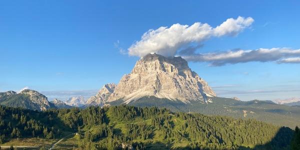 Ausblick im Anstieg auf den Monte Pelmo