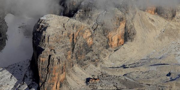 Vedretta degli Sfulmini e Rifugio Alimonta, Dolomiti di Brenta
