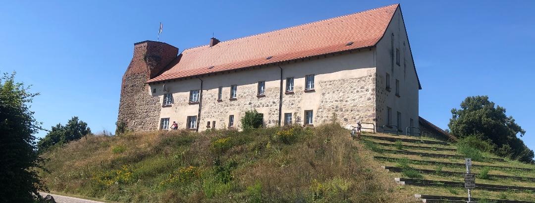 die Burg in Wesenberg