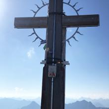 Hochvogel Gipfelkreuz