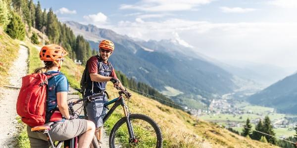 Biker in Run Cunel