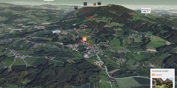 Wanderung in der Oststeiermark: Pucher Panoramaweg